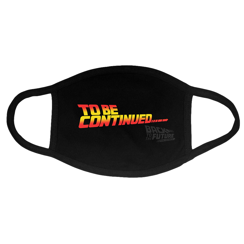 Back To The Future Face Mask