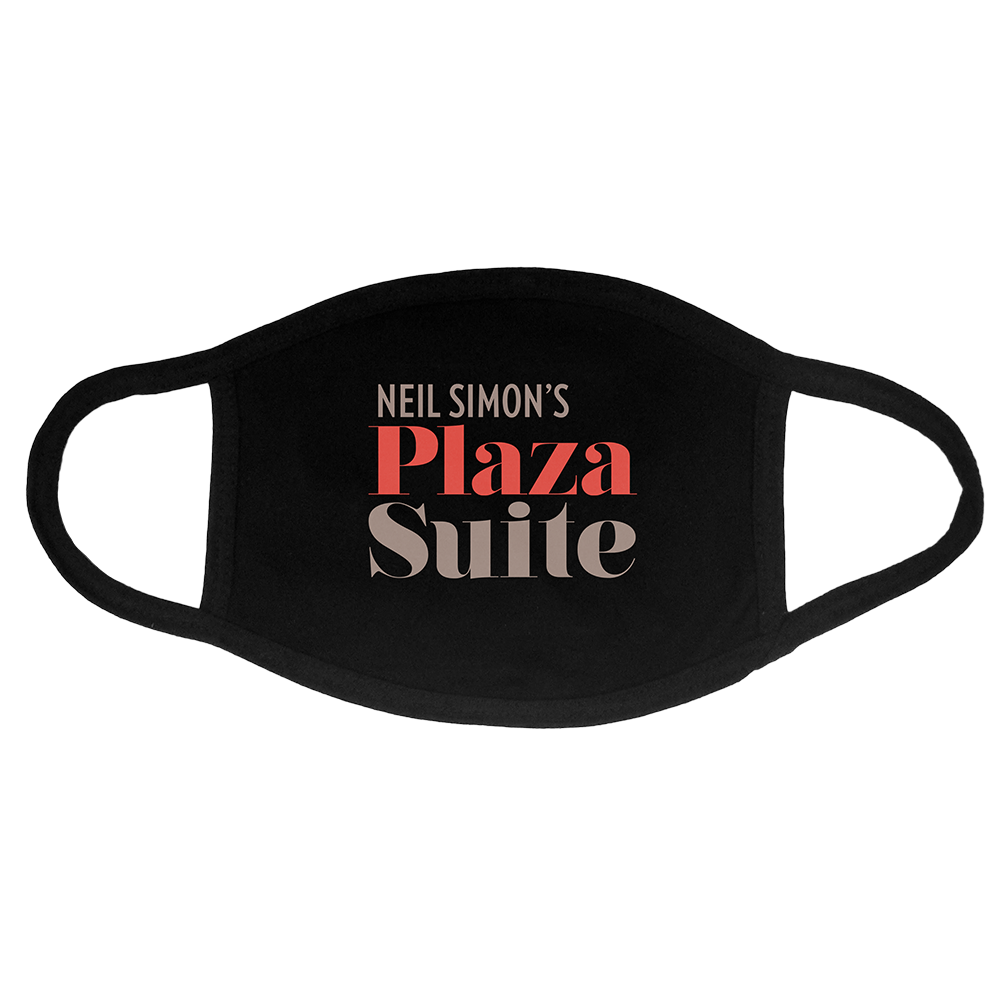 Plaza Suite Logo Face Mask
