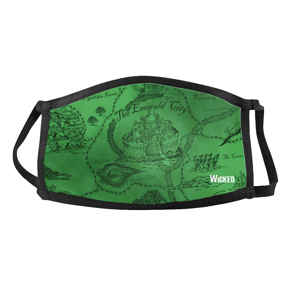 Wicked Map Face Mask