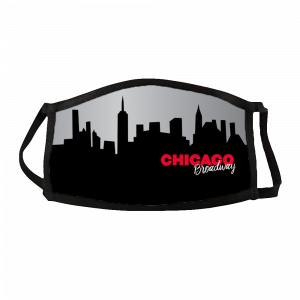 Chicago Skyline Face Mask