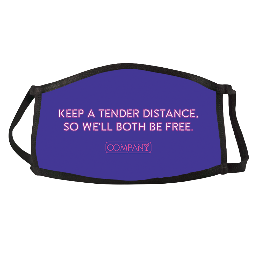 Company Tender Distance Face Mask